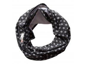 Needo Bryndák pro postižené - šála (černá z BIO bavlny)