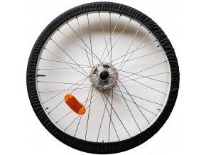 Sada návleků na kola invalidního vozíku (černá)