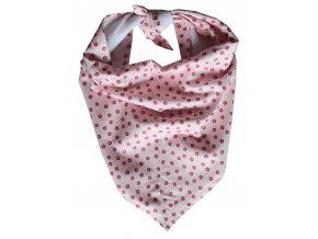 Needo Bryndák pro postižené - šátek (růžový s kytičkami)