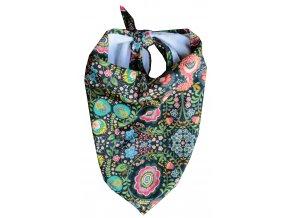 Needo Bryndák pro postižené - šátek (vzorované kytičky)