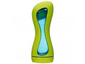 602 iiamo home green blue baby bottle w lid closed