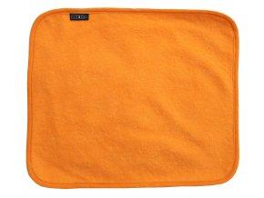 Needo Utěrka pro postižené - froté (oranžová)