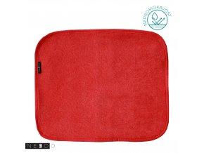 Needo Utěrka pro postižené - froté (červená)