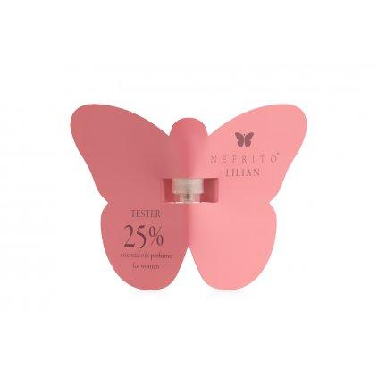 nefrito butterfly outside lilian web