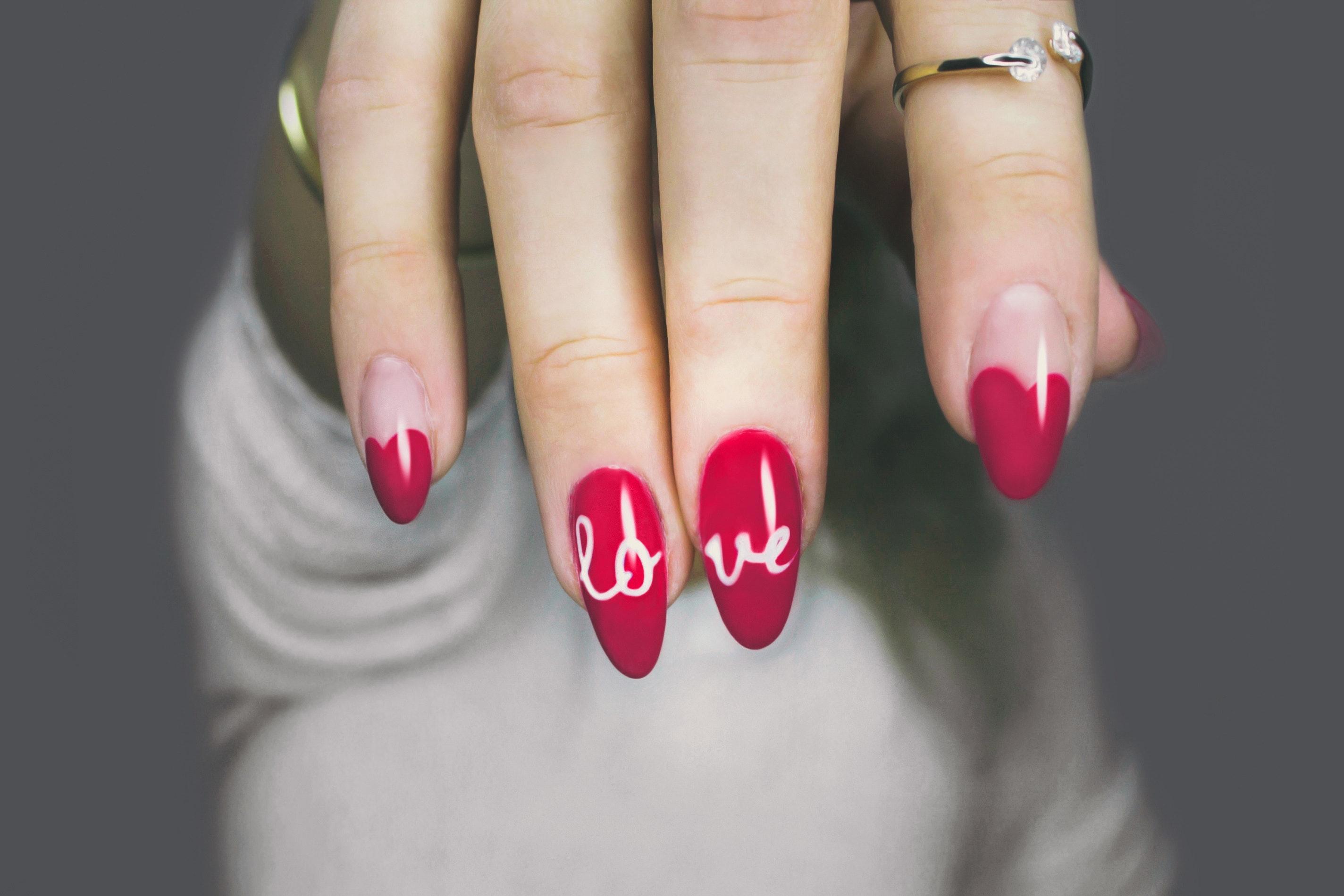 Červená je barva lásky