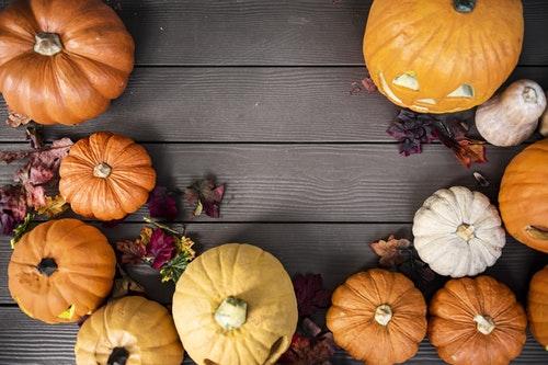 Gelové nehty na Halloweenskou party