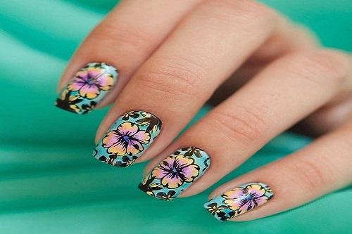 Květinové nehty
