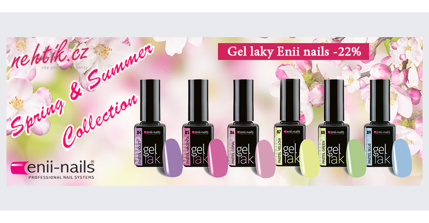 Gel laky Enii nails