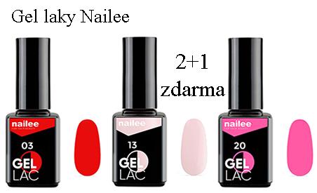Gel laky Nailee 2+1