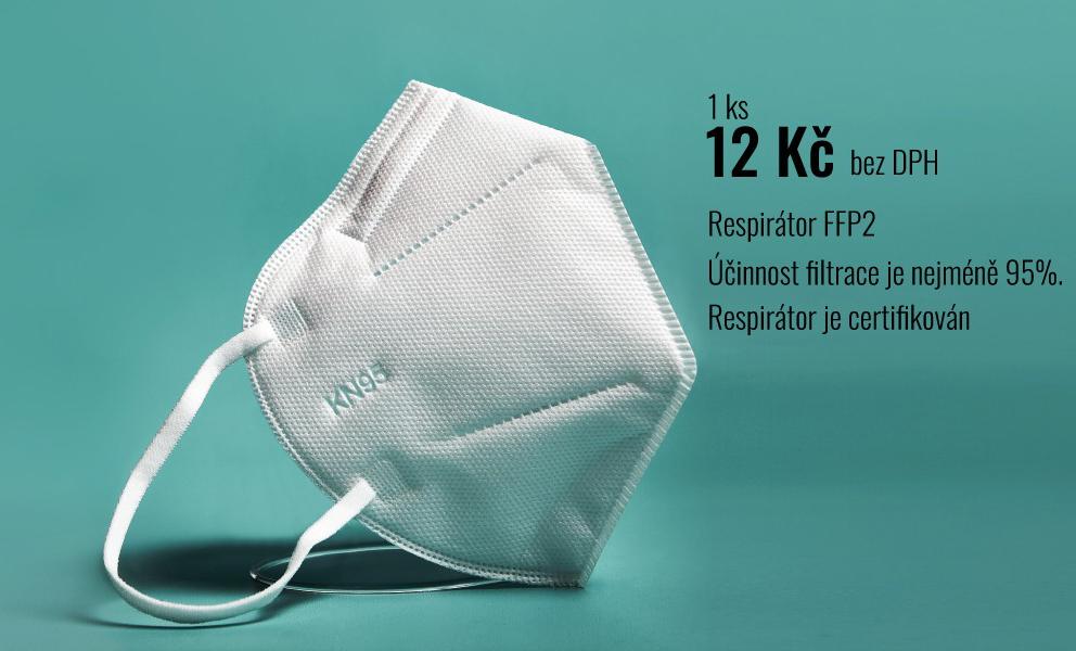 Respirátor FFP2 / KN95