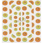 Samolepky pro letni gelové nehty 2019 motiv citrusy