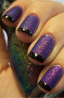 Gelové nehty francie barevné 18