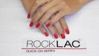 Aplikace gel laku Rocklac hotové krásné nehty