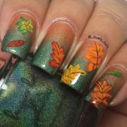 Podzimní gelové nehty 2020