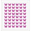 Samolepky Art na nehty motýlci tm.růžová - 603-2