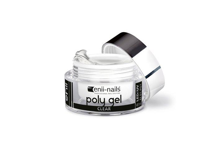 polygel clear 10 enii nails