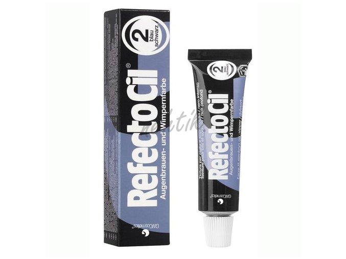 RefectoCil barva na řasy č.2 modročerná