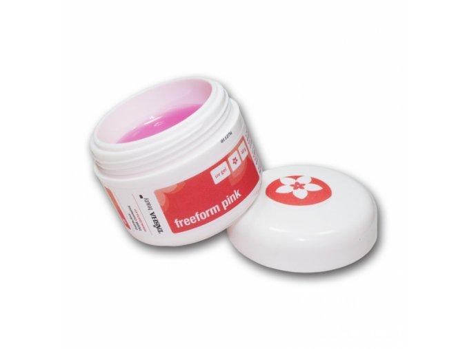 Tasha UV gel Free Form Pink 10 g modelovací na šablony