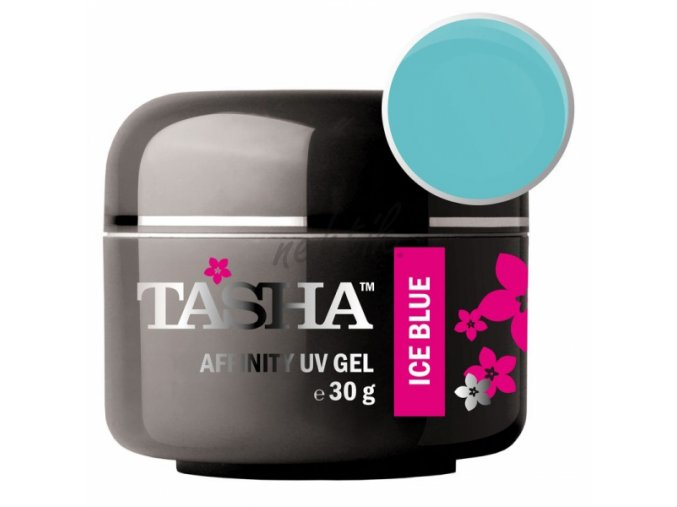 Jednofázový Uv gel Ice Blue 30 g Tasha