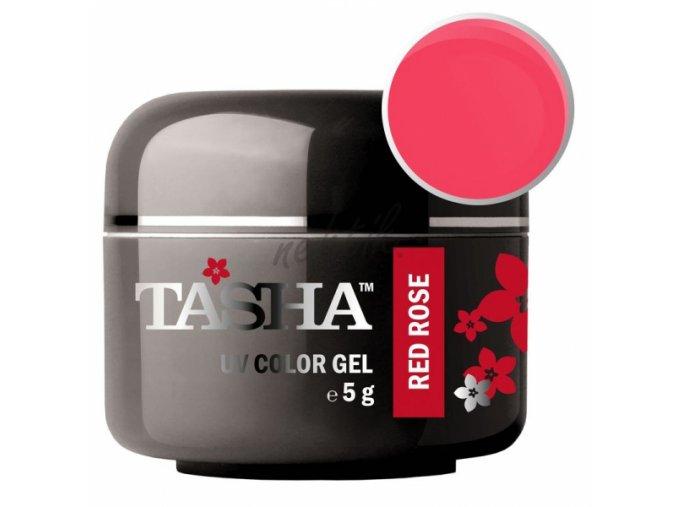 Uv gel barevný Tasha Red Rose 5g - Black Line