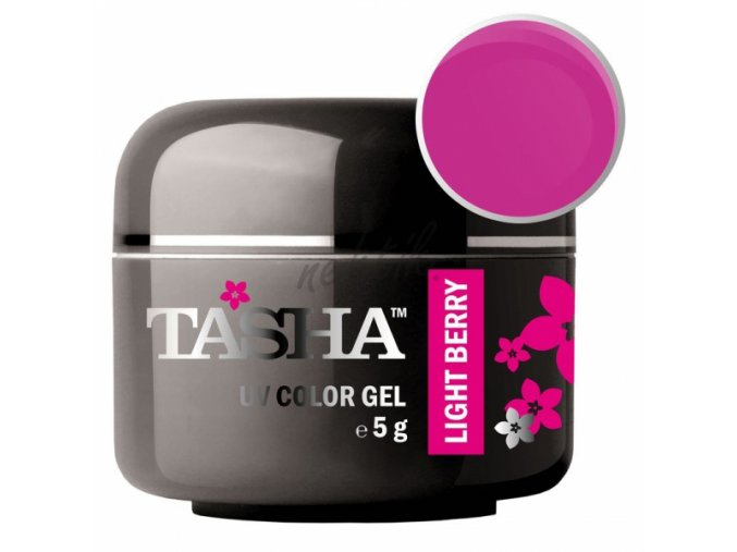 Uv gel barevný Tasha Light Berry 5g - Black Line