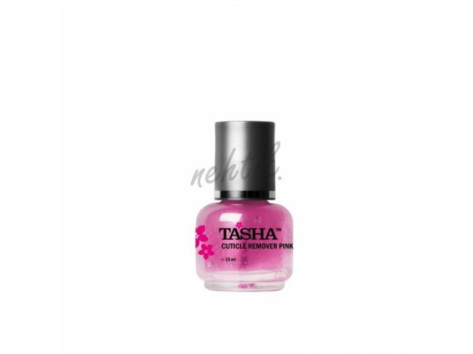 Cuticle remover pink - odstraňovač kůžičky Tasha 15ml