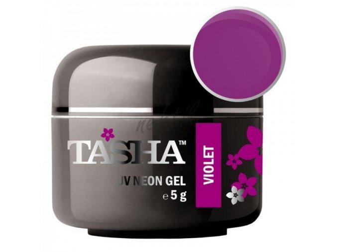 Uv gel barevný Tasha Neon Violet 5g - Black Line