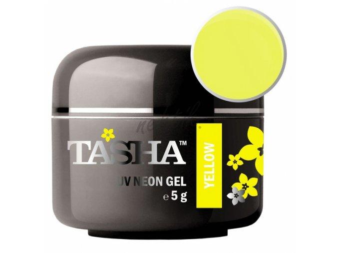 Uv gel barevný Tasha Neon Yellow 5g - Black Line