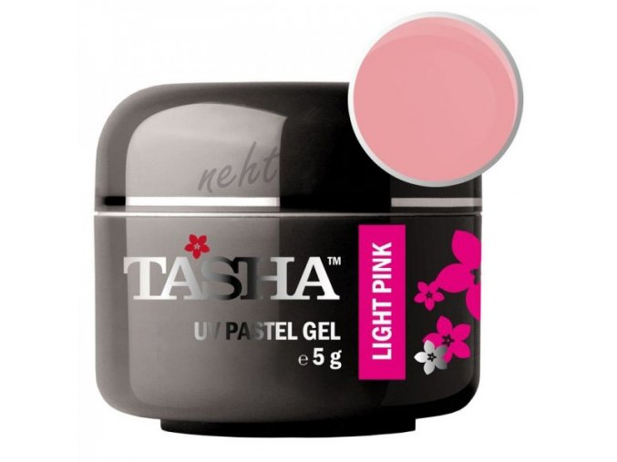 Uv gel barevný Tasha Pastel Light Pink 5g - Black Line