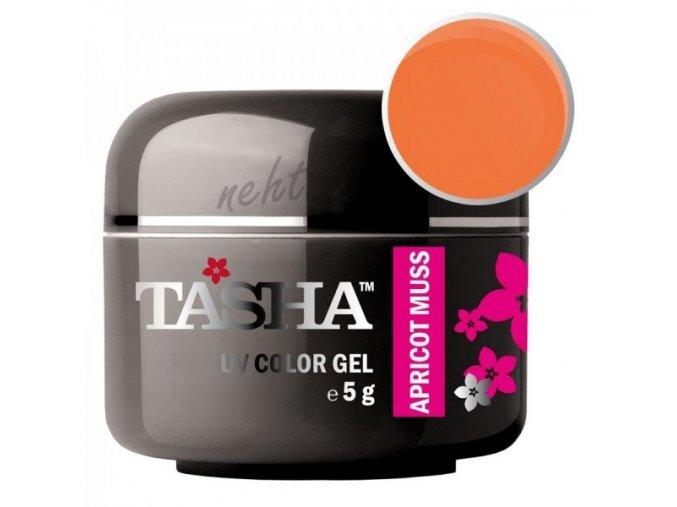 Uv gel barevný Tasha Apricot Muss 5g - Black Line