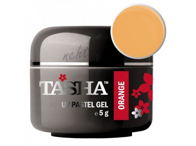 Uv gel barevný Tasha Pastel Orange 5g - Black Line