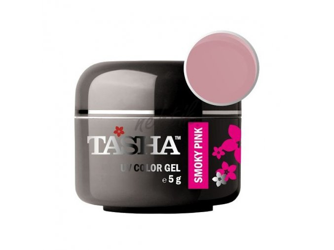 Uv gel barevný Tasha Smoky pink 5g - Black Line