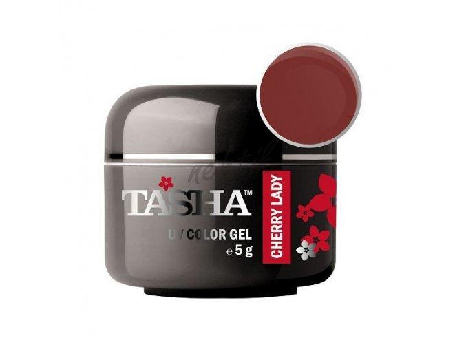 Uv gel barevný Tasha Cherry Lady 5g - Black Line
