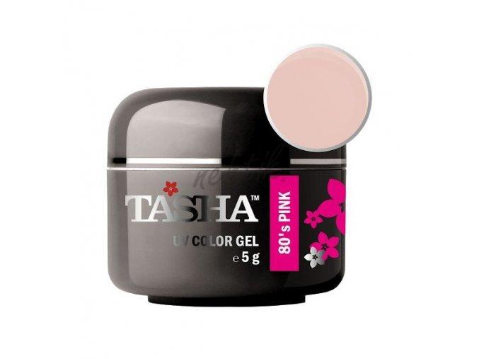 Uv gel barevný Tasha 80´s Pink 5g - Black Line