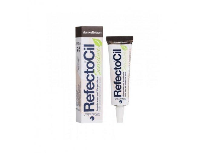 RefectoCil Sensitive Barva na řasy a obočí Light Brown 15 ml