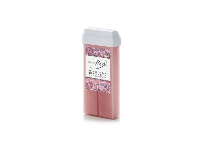 Italwax depilační vosk Růžový olej 100ml Flex