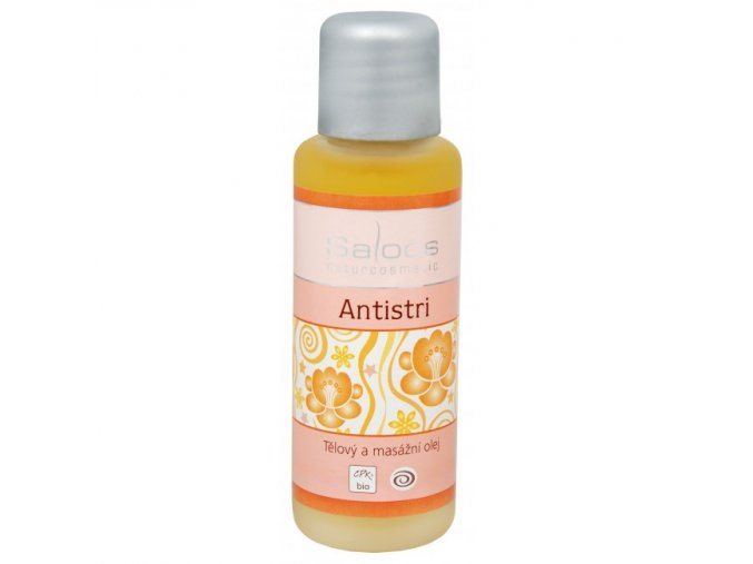 Saloos Bio tělový a masážní olej Antistri 50 ml
