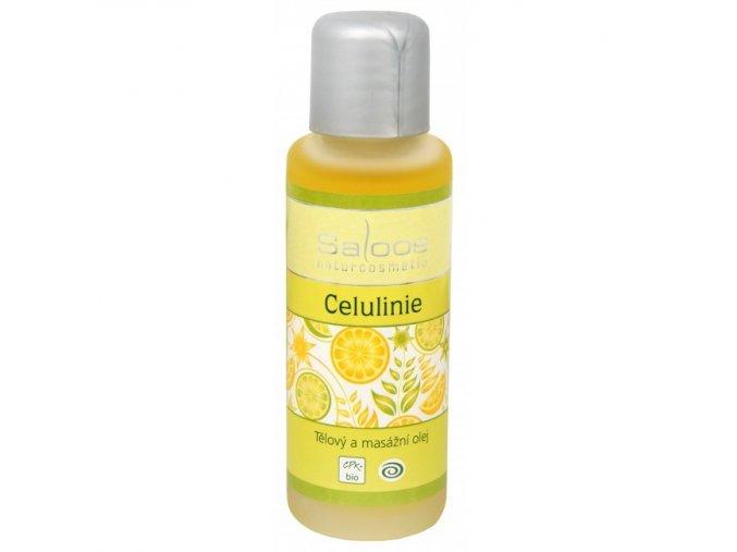 Saloos Bio tělový a masážní olej Celulinie 50 ml