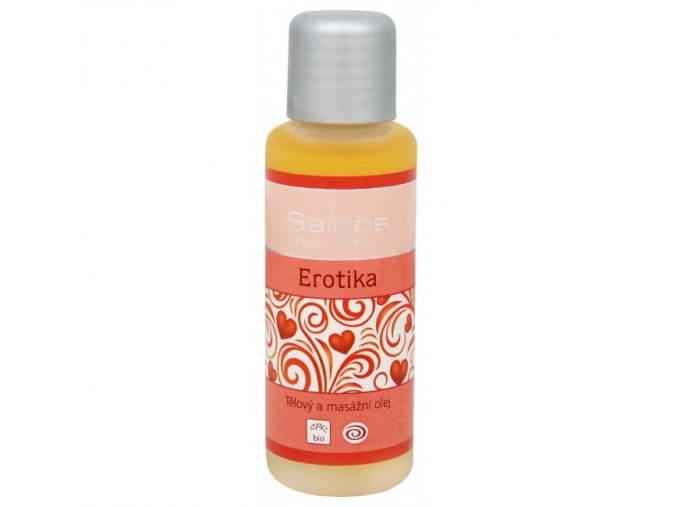 Saloos Bio Tělový a masážní olej Erotika 50ml