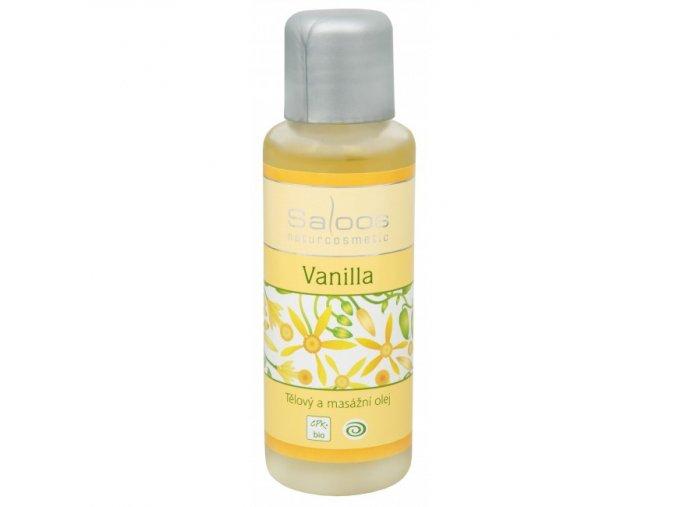 Saloos Bio Tělový a masážní olej Vanilla 50 ml