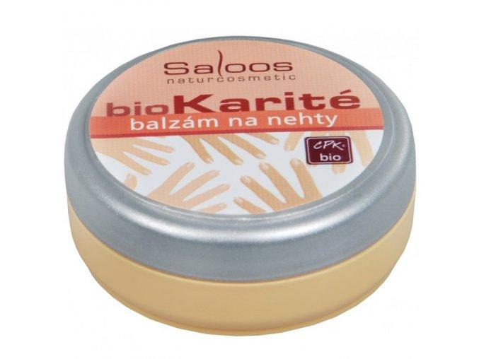 Saloos Bio Karité Balzám na nehty 19 ml