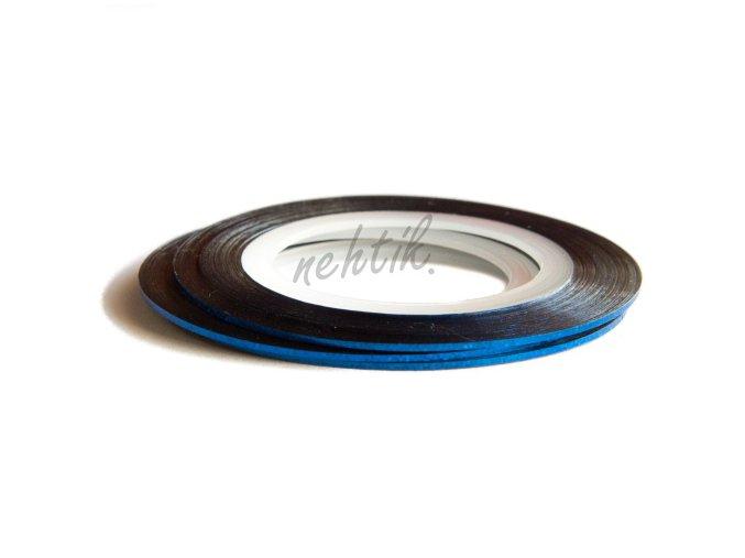 Zdobení - Nail Art pásek modrý