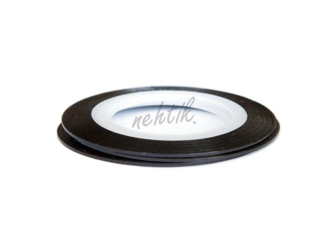 Zdobení - Nail Art pásek černý