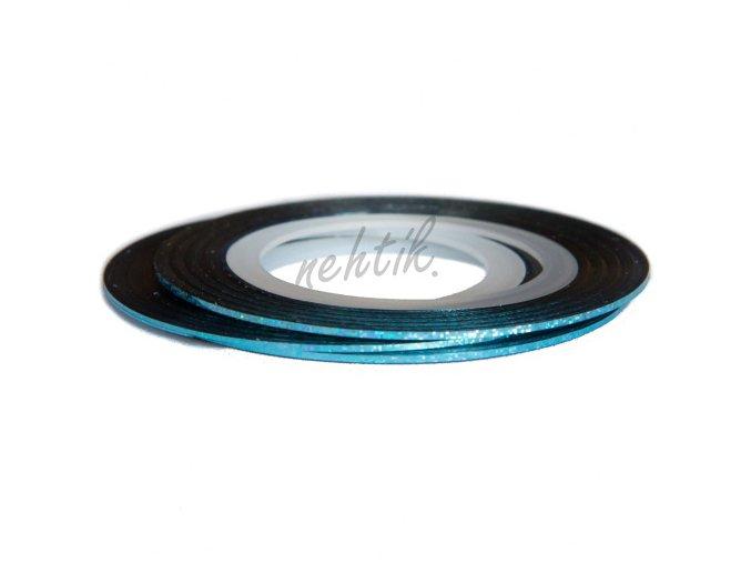 Zdobení - Nail Art pásek světle modrý