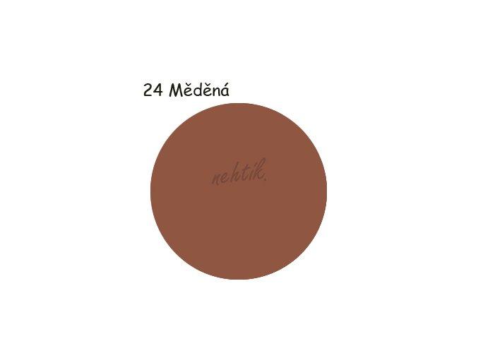Zdobící akrylová barva na nehty - č. 24 hnědá 30g