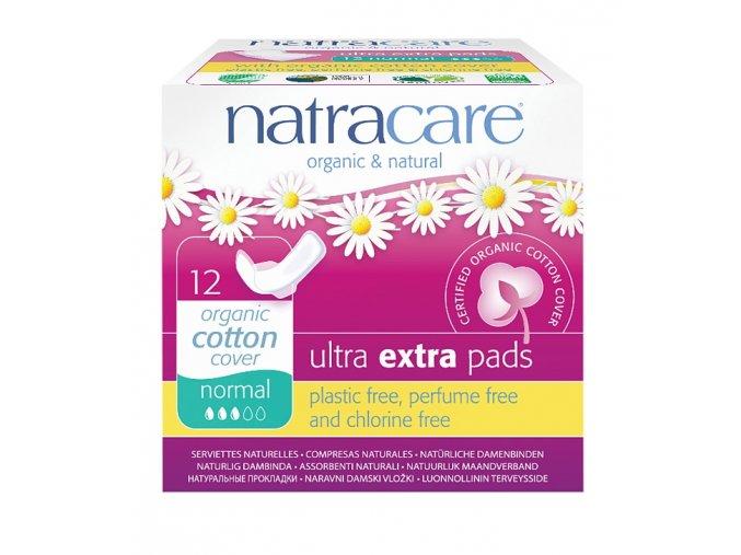 Natracare Denní vložky Normal Ultra Extra, balené (12ks)