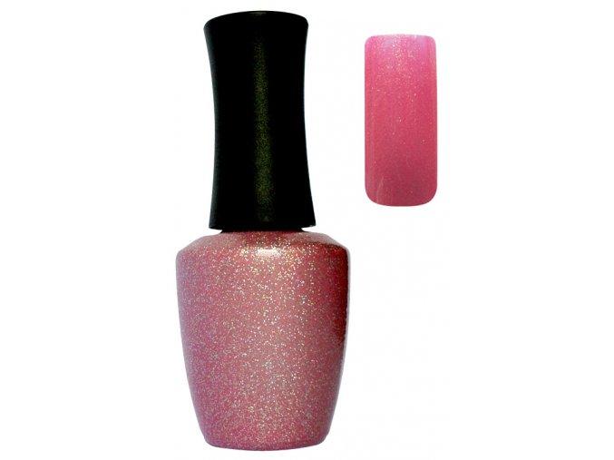 CEDRO UV a LED gel lak č. 5 - glitter peach flower