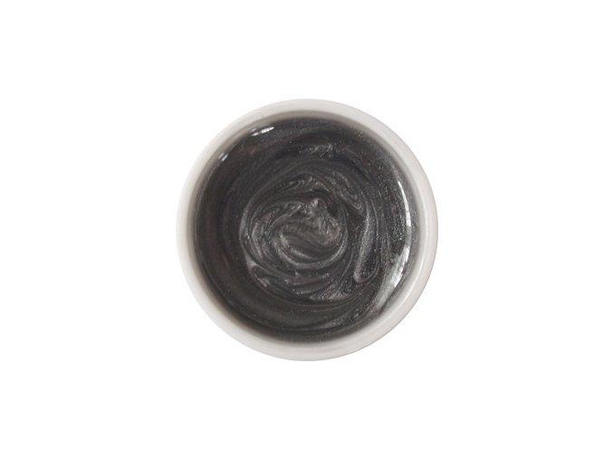 Barevný UV gel 10 perleť šedý Cedro