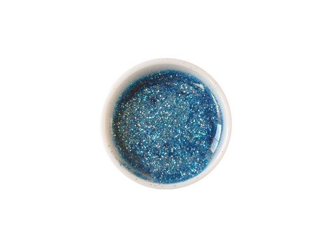 Glitter barevný UV gel g21 tyrkysově modrý