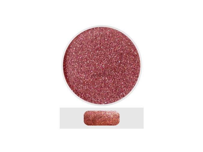 Glitterový akryl pudr 5 ml č.3 - starorůžový